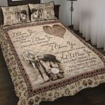 Ligerking™ Country Love Quote Quilt bedding set HD06190