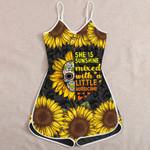 Ligerking™ Sunflower Skull  Jumpsuit HD05807