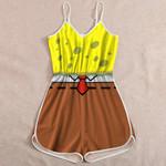Ligerking™ Sponge Bob Jumpsuit for Women HD06240