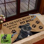 Ligerking™ Custom Pet Photo Doormat HD06108