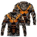 Ligerking™ Father and Daughter Hunting Partners Hoodie HD06441