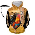 Ligerking™ Farmer Rooster Hoodie HD06477