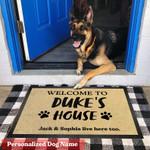 Ligerking™ Custom Pet's Name Doormat HD06520