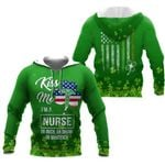 Ligerking™ St. Patrick's Day Irish Nurse all over print all size - St Patrick's day shirts