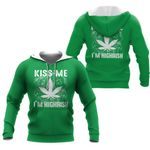 Ligerking™ St. Patrick's Day 420 Smoking all over print all size - St Patrick's day shirts
