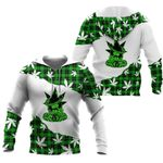 Ligerking™ Green Weed be locked all over print all size - Green Weed shirts