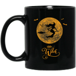 100 that Witch Funny Halloween Party Drinking Black Mug