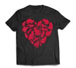 Valentines Day Cat Women Heart Funny Kitty Kitten T-Shirt