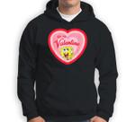 Spongebob Squarepants Spongebob be my Valentine Sweatshirt & Hoodie