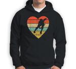 Roller Derby Vintage Design Retro Skater Player Heart Sport Sweatshirt & Hoodie