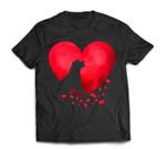 Rottweiler Heart Valentine Day Pet Puppy Dog Lover T-Shirt