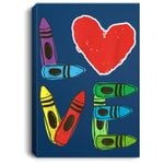 PreK Teacher PreSchool Valentines Day LOVE Gift Portrait Bed Room/ Living room Wall Art