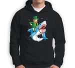 Leprechaun Riding Shark St Patricks Day Boys Kids Men Gifts Sweatshirt & Hoodie