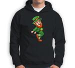 Leprechaun Shoot Dance St. Patrick's Day Sweatshirt & Hoodie