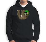 Leprechaun Sloth Lovers Gift - Cute St Patricks Day Sloth Sweatshirt & Hoodie