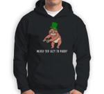 Leprechaun Sloth- Not Lazy Paddy St. Patrick's Day Sweatshirt & Hoodie