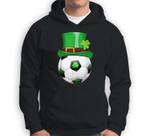 Leprechaun Soccer Funny St.Patrick's Day Kids Gift Sweatshirt & Hoodie