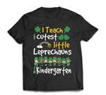 Leprechaun St Patricks Day Kindergarten Teacher T-Shirt