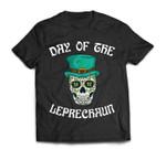 Leprechaun Sugar Skull Funny St. Patricks Day Gift T-Shirt