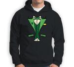 Leprechaun Tuxedo Patricks Day DIY Irish Halloween Costume Sweatshirt & Hoodie