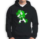 Lepricorn Dabbing Unicorn Leprechaun St Patricks Day Sweatshirt & Hoodie