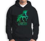 Lepricorn Leprechaun Unicorn St Patricks Day Girls Kid Sweatshirt & Hoodie