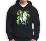 Lepricorn Leprechaun Unicorn St Patricks Day Women Men Beer Sweatshirt & Hoodie