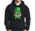 Lepurrchaun St. Patrick's Day Cat Leprechaun Paddy Day Sweatshirt & Hoodie