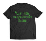Let the Shenanigans Begin St Patrick's Party Shamrocks T-Shirt