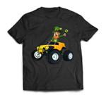 Leprechaun Monster Truck St. Patrick's Day Kids T-Shirt