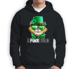 Lepurrchaun St. Patrick's Day Cat Leprechaun Shamrock Women Sweatshirt & Hoodie