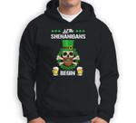 Let the Shenanigans Begin St Patricks Day Skull Gift Sweatshirt & Hoodie