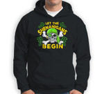 Let The Shenanigans Begin-Pirate Skull St Patricks day Sweatshirt & Hoodie