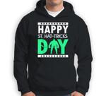 St Patricks Day Ice Hockey Happy St Hat-tricks Day Sweatshirt & Hoodie