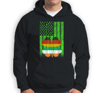 St Patricks Day Irish American Flag - Irish German Flag Gift Sweatshirt & Hoodie