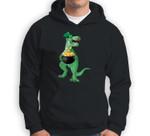 St Patricks Day Irish Dinosaur Leprechaun Sweatshirt & Hoodie