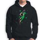 St Patrick's Day Lax  Lacrosse Player Sweatshirt & Hoodie