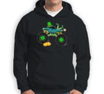 St Patrick's Day Monster Truck Lover Irish Shamrock Boy Kids Sweatshirt & Hoodie
