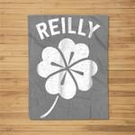 St Patricks Day Reilly Lucky Irish Paddies Men Women Fleece Blanket