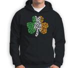 St Patricks Day shamrock Gaming Video Gamer kids boys men Sweatshirt & Hoodie