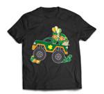 St Patricks Day Toddler Boys Girls Monster Truck T-Shirt