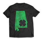St. Patrick's Day Shamrock Alabama Irish Green Saint Paddy's T-Shirt