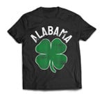 St. Patrick's Day Shamrock Alabama Irish Saint Paddy's Gift T-Shirt