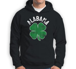 St. Patrick's Day Shamrock Alabama Irish Saint Paddy's Gift Sweatshirt & Hoodie