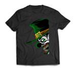 St. Patrick's Evil Clown Leprechaun For Horror Movie Fans T-Shirt