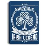 Sweeney original irish legend st patricks day Portrait Canvas