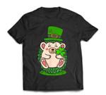 St. Patrick's Day Shamrock Hedgehog Irish T-Shirt