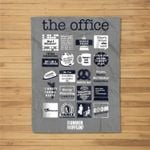 The Office Quote Mash-Up St. Paddy's Day Standard Fleece Blanket