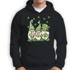 Three Green Irish Gnomes Shamrock Clover St. Patrick's Day Sweatshirt & Hoodie