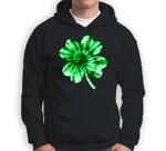 Tie Dye Shamrock St Patricks Day Women Men Green Fun Sweatshirt & Hoodie